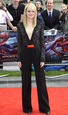 Emma Stone @ The Amazing Spider-Man - UK Premiere