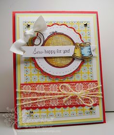 Sew Happy For You-Lemon Drop Twine