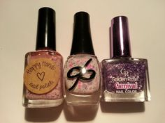 Swatched one hand. Carnival Nails, Nail Polish Sale, Spoons, Nail Colors, Perfume Bottles, Hands, Rose, Beauty, Pink