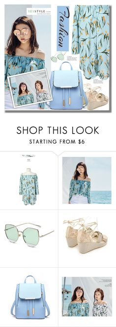 """""""YesStyle - 10% off coupon"""" by edita-n ❤ liked on Polyvore featuring MAGJAY, Pangmama, Summer and yesstyle"""