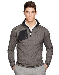 Herringbone Half-Zip Pullover - RLX Golf Sweatshirts - RalphLauren.com