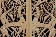 viking woodwork by hans s, via Flickr