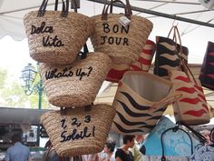 tips for customizing a French basket--In The Mood For Saint Tropez - Vicki Archer