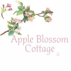 Pink Apple Blossom cottage
