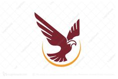 Logo for sale: Flying Eagle Logo. Simple flying eagle logo with sunshine lining. The symbol itself will looks nice as social media avatar and website or mobile icon. eagle falcon hawk logo logos Finance company Financial investment Credit union eCommerce consultant clothing consultation Construction Accounting Financial young modern simple stability product business brand design graphic unique recognized professional buy purchase sell on sale sold app apps game software application sun
