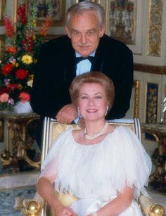 Les 25 ans de mariage du prince Rainier et de Grace de Monaco en 1981