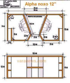 subwoofer box design for 12 inch Subwoofer Diy, 12 Inch Subwoofer Box, Subwoofer Box Design, Subwoofer Speaker, Powered Subwoofer, Car Speaker Box, Speaker Box Design, Speaker Plans, Audio Box