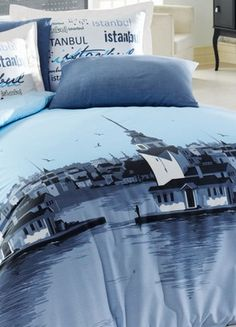 Turkish Istanbul bedding- In Turkey they only make twin and full sizes ...