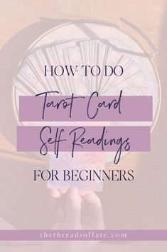 How to do tarot card self readings for beginners and intuitive tarot reading. The cards can show you a potential and likely path, but this is grounded in the current moment. #tarot #selfreadings Physic Reading, Tarot Cards For Beginners, Tarot Card Spreads, Oracle Reading, Tarot Learning, Tarot Card Meanings, Spiritual Connection, Paganism, Oracle Cards