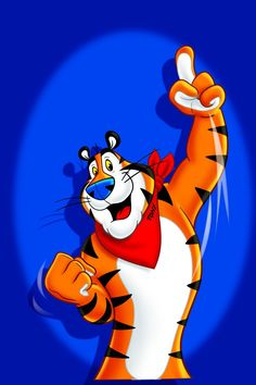 Tony The Tiger commercial for Frosted Flakes. They're GRRRREAT!!!!