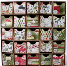 DIY with a chipboard organizer found at a hobby/craft store.    Google Image Result for http://3.bp.blogspot.com/-13I99x0a0yY/Tq8YaYeAuqI/AAAAAAAAFbk/mBxioqacB-4/s1600/g%2B005.jpg