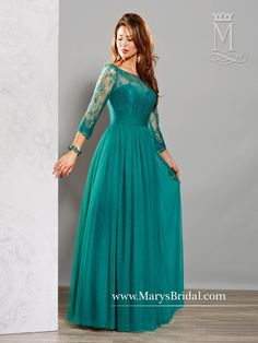A-Line Mother of the Bride Gown M2706