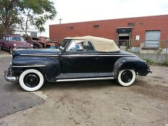 Plymouth :  Special Deluxe 1948 Plymouth P15 Convertible Mopar Very Rare Original Hot Rod Running Barn Find - http://www.usabarnfinds.com/?p=1310