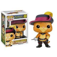 Funko Pop Movies - Gato De Botas