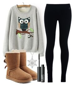 """""""Home"""" by kaithlynjoy143 ❤ liked on Polyvore featuring NIKE, UGG Australia and NARS Cosmetics"""