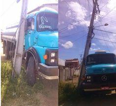 HORA DA VERDADE: URGENTE: Caminhão bate em poste e deixa casas sem ...