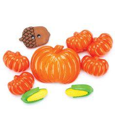 Favorite Findings Buttons-Autumn (bright) 8/pkg