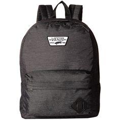 2f2e283acd8 Vans Old Skool II Backpack (Black Concrete) Backpack Bags (215 HKD) ❤