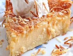 Recette: Tarte impossible. Pie Recipes, Sweet Recipes, Dessert Recipes, No Bake Desserts, Easy Desserts, Oatmeal Cookie Recipes, Cooking Chef, Pie Cake, Fabulous Foods