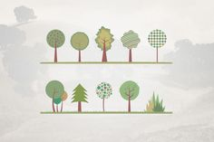 fantastic collection of tree illustrations