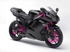 Kawasaki KZ6R black + pink