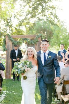 Outdoor Rustic Elegant Wedding Wedding Event Styled by Madam Palooza  Photography by Leah Marie Photography