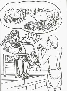 Joseph's Dream Interpretations colouring sheet