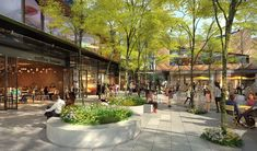 Frasers Property reveals new tenants for Ed.Square Town Centre – Shopping Centre News Retail Architecture, Landscape Architecture, Architecture Design, Installation Architecture, Parque Linear, Plaza Design, Mall Design, New Urbanism, Shopping Street