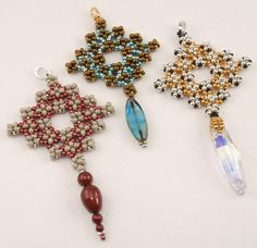 Instructions for Mayan Steps    Beading Tutorial