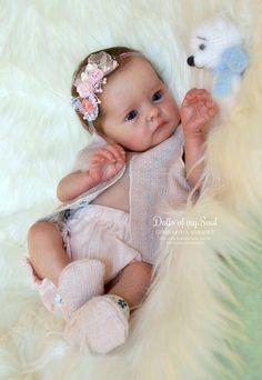 Tink Reborn Vinyl Doll Kit by Bonnie Brown Bb Reborn, Reborn Doll Kits, Reborn Babies, Reborn Child, Reborn Toddler Girl, Toddler Dolls, Real Life Baby Dolls, Silicone Baby Dolls, Realistic Baby Dolls