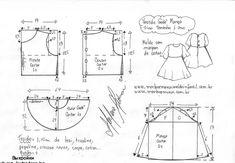 Одноклассники Kids Dress Patterns, Kids Clothes Patterns, Dress Making Patterns, Sewing Patterns For Kids, Sewing For Kids, Baby Sewing, Clothing Patterns, Baby Kids Clothes, T Shirt Sewing Pattern