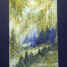 Art paintings aceo original painting £4.00