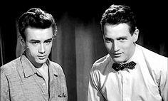 Paul Newman and James Dean | James Dean Daily