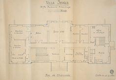 Ville Seigle. Plan du Rez-de-chaussée