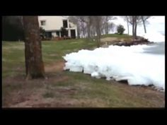 Tsunami de hielo en Canadá (Imágenes impactantes)