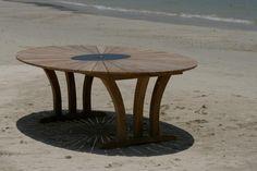 10 Seater Large Oval Teak Set - Hawaiian Eclipse