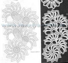 Tape Lace Patterns (many)