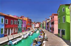 I need to go to all these places like NOW!!!  Burano | 28 Towns In Italy You Won't Believe Are Real Places