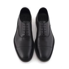 Men's Black Vegan Oxford - George