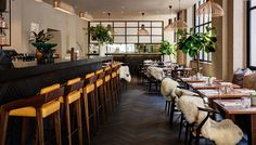 Design-led concept store Clerkenwell London distils the essence of one of the capitals most creative neighbourhoods. Pub Design, Restaurant Design, London Cafe, Cafe Bar, Lamp Design, Pendant Lamp, Decoration, Modern, Home Decor