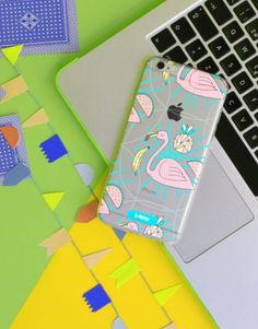 funda-movil-flamenco-minimal-2 Pink, Phone Cases, See Through, Mobile Cases, Feathers, Flamingo, Arrows, Pink Hair, Roses