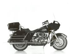 The 80s kicked off  the debut of an engine and five-speed transmission that were hard bolted together.   Harley-Davidson 1980 FLT Tour Glide