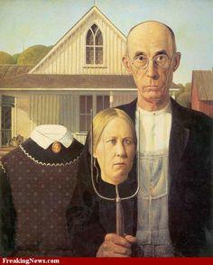 American Gothic Version