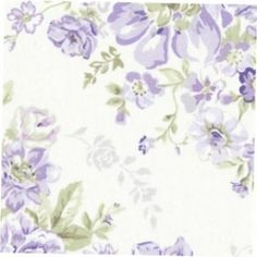 Wildflowers Collection Large Lavender Floral