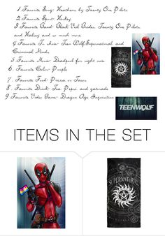 """""""About Me Tag"""" by kayla2558 ❤ liked on Polyvore featuring art"""