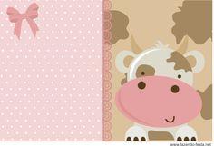 Economize muito personalizando sua festa com esse lindo kit festa fazendinha rosa. Fácil de editar, lindo, pronto para imprimir e gratuito! Confira já!