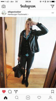 Streetstyle #leatherjacket #style #fashion