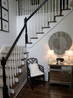 TiffanyD: decor.... I like it but It might set a black and sliver with white theme which I wouldn't want in MY house, but I still love it!!!!