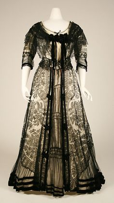 Dinner Dress  1901  The Metropolitan Museum of Art