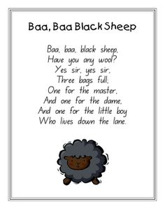 16 x Full - Page Nursery Rhyme Time Posters _ PDF file16 page, printable file.Ideal for the early childhood setting such as preschool, day ...